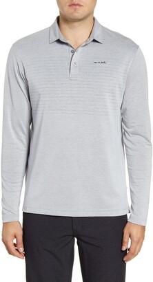 Travis Mathew TravisMathew Top Dog Stripe Long Sleeve Jersey Polo