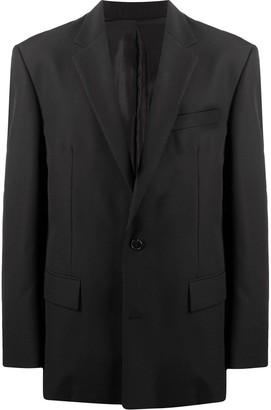 Juun.J Long-Sleeved Oversize Blazer