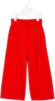 Simonetta flared trousers - kids - Polyester/Spandex/Elastane/Viscose - 4 yrs
