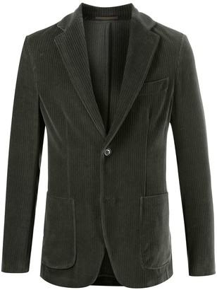Seventy Corduroy Single-Breasted Blazer
