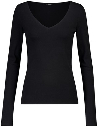 Joseph Stretch silk-blend top