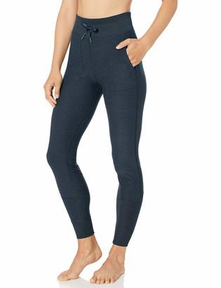 Core 10 Cozy High Waist Legging With Pockets Navy Heather 3X (22W-24W)
