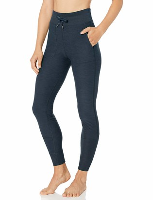 Core 10 Cozy High Waist Legging With Pockets Navy Heather L (12-14)