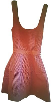 Maje Orange Synthetic Dresses