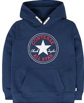 Converse Boys' Core Pullover Hoodie, Navy