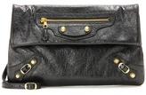 Balenciaga Giant 12 Envelope Leather Clutch