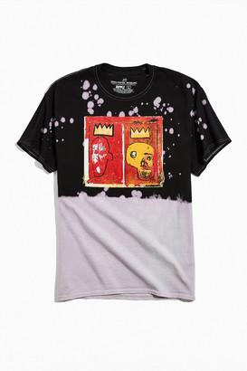 Urban Outfitters Basquiat Dip-Dye Tee