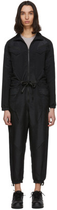 Jordan Black Flight Suit Jumpsuit