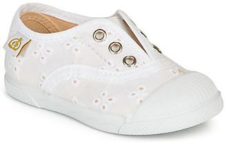 Citrouille et Compagnie RIVIALELLE girls's Shoes (Trainers) in White