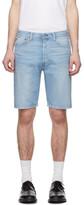 Levi's Levis Blue Denim 501 Hemmed Shorts