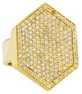 Jennifer Fisher Pavé Geometric Ring