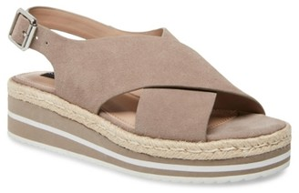 STEVEN NEW YORK Landry Espadrille Wedge Sandal