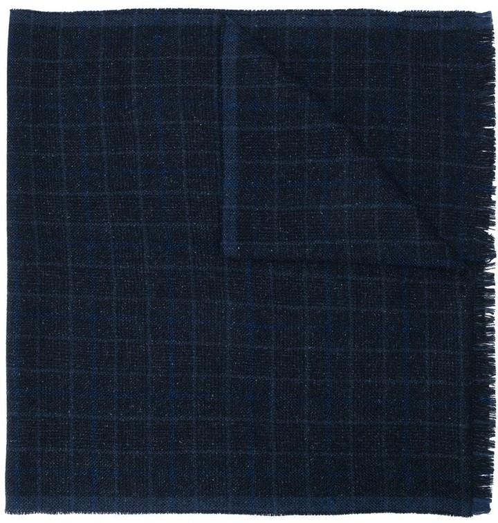 Eleventy check print scarf
