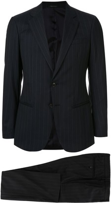 Giorgio Armani Two-Piece Pinstripe Formal Suit
