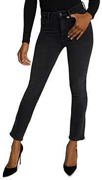 Good American Good Classic Skinny Jeans in Black114