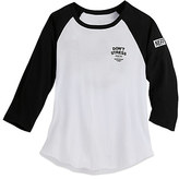 Disney Mickey Mouse Don't Stress Raglan Sleeve Tee for Juniors by Neff