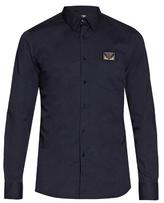 Fendi Bag Bugs-embroidered Long-sleeved Shirt