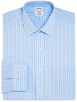 Brooks Brothers Overcheck Regent Classic Fit Dress Shirt