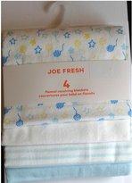 Joe Fresh 4 flannel Receiving Blankets