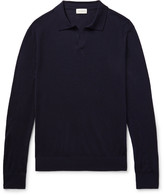 Club Monaco - Johnny Merino Wool, Silk And Cashmere-blend Sweater