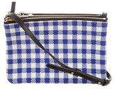 Celine Gingham Trio Crossbody Bag
