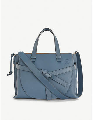 Loewe Gate top-handle small leather tote bag