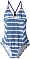 Splendid Littles Chambray Cottage One-Piece Girl's Swimsuits One Piece