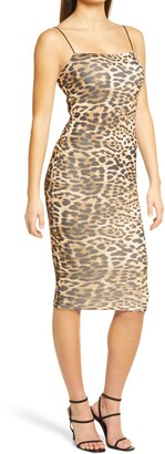 Naked Wardrobe Sultry Sheath Dress