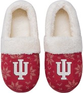 Unbranded Women's Indiana Hoosiers Ugly Knit Moccasin Slippers