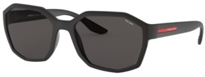 Prada Linea Rossa Men's Sunglasses, Ps 02VS
