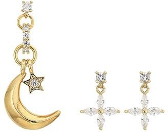 Vanessa Mooney The Mercury Earrings (Gold) Earring