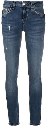 Liu Jo Mid Rise Skinny Jeans