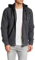 RVCA Long Sleeve Hooded Shirt