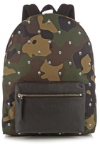 Alexander Mcqueen Camouflage-print Canvas Backpack