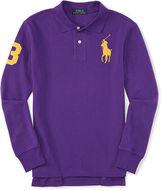 Ralph Lauren Big Pony Long-Sleeve Polo