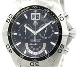 Tag Heuer Aquaracer CAF101A Stainless Steel Quartz 44mm Mens Watch