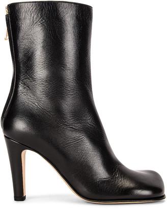 Bottega Veneta Round Toe Boots in Black | FWRD