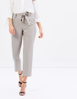 Dorothy Perkins Crepe Tie Waist Tapered Pants