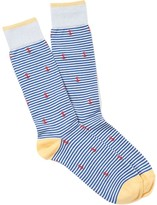 J.Mclaughlin Stripe and Anchor Socks