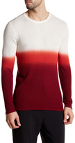 Parke & Ronen Dip-Dye Long Sleeve Thermal Shirt