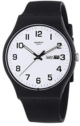 Swatch Twice Again - SUOB705 (Black) Watches