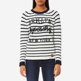 Superdry Women's Stripe Knitted Jumper