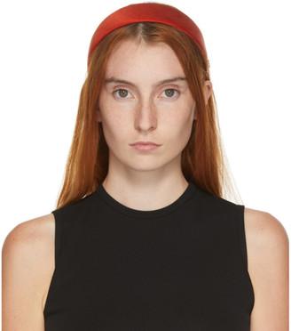 Maison Michel Red Miwa Headband