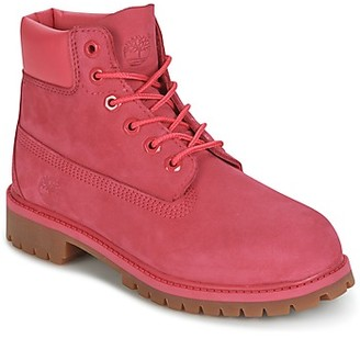 Timberland 6 IN PREMIUM WP BOOT girls's Mid Boots in Pink