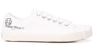 Maison Margiela Tabi paint sneakers