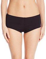 Kenneth Cole New York Women's Fancy Footwork Solid Bikini Bottom Boy Short