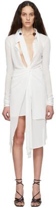 Jacquemus White La Robe Bellagio Dress