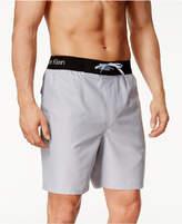 "Calvin Klein Men's Logo Waist Band Swim Trunk 9"""