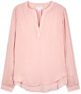 Velvet by Graham & Spencer Rosie Pink Jersey Blouse