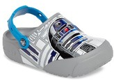 Boy's Crocs(TM) Fun Lab Star Wars(TM) R2-D2 Light-Up Clog